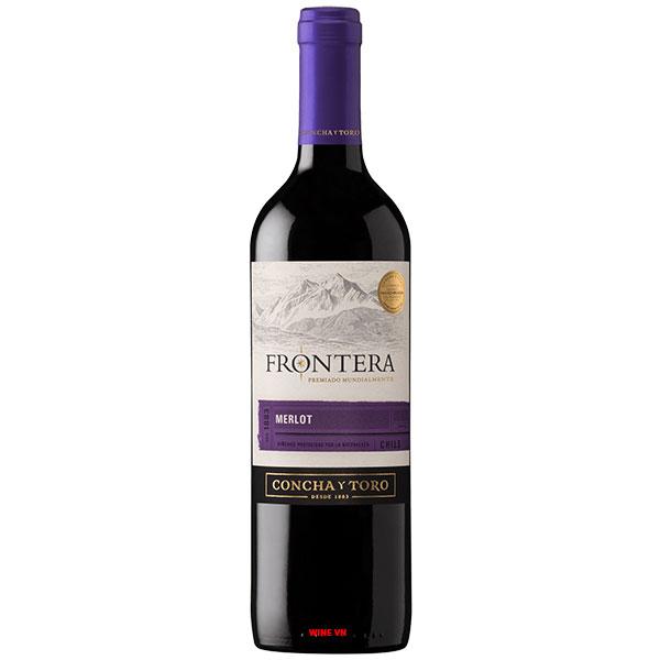 Rượu Vang Chile Concha Y Toro Frontera Merlot