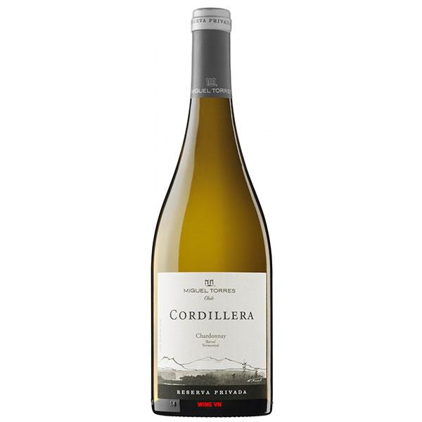 Rượu Vang Chile Cordillera Reserva Privada Chardonnay