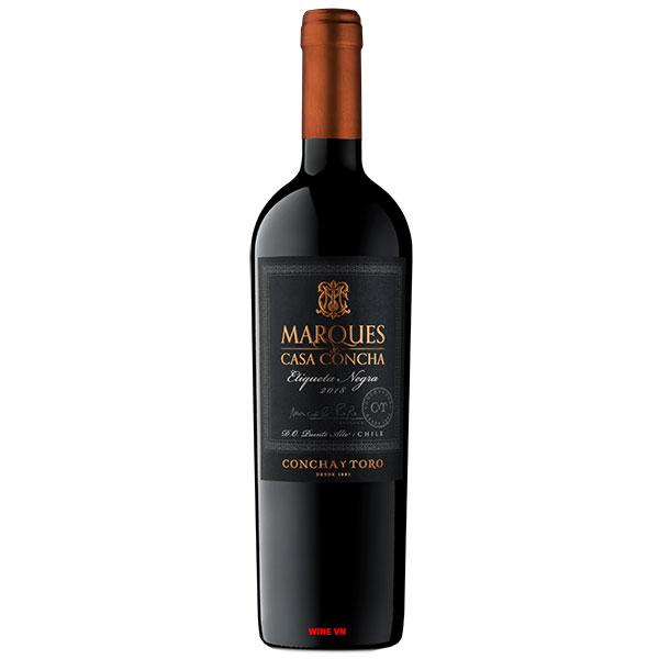 Rượu Vang Chile Marques De Casa Concha Etiqueta Negra