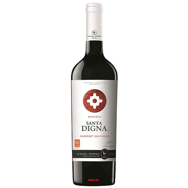 Rượu Vang Chile Santa Digna Reserva Cabernet Sauvignon