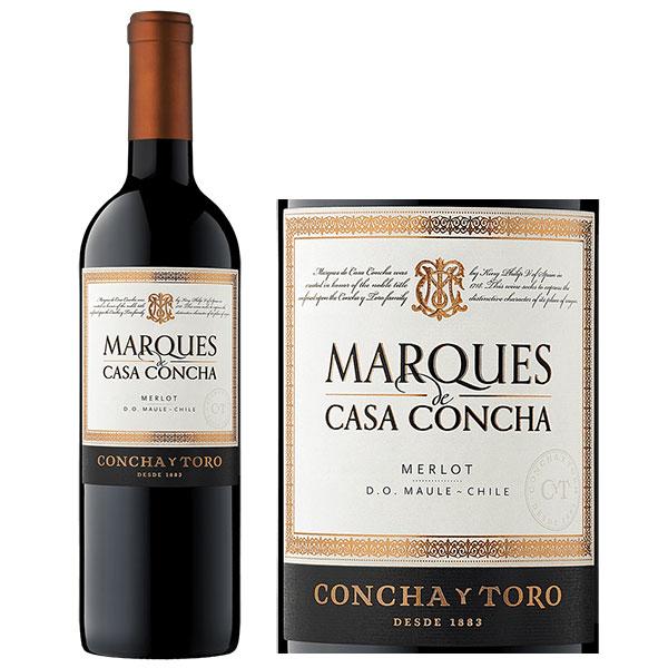 Rượu Vang Concha Y Toro Marques De Casa Concha Merlot