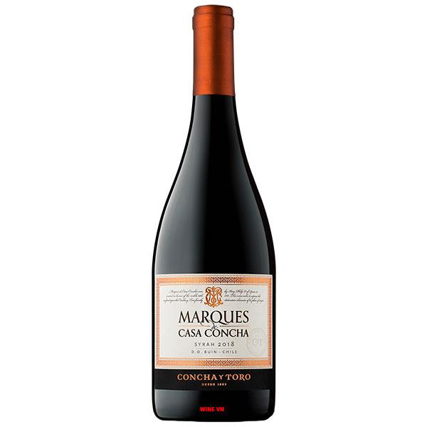 Rượu Vang Concha Y Toro Marques De Casa Concha Syrah