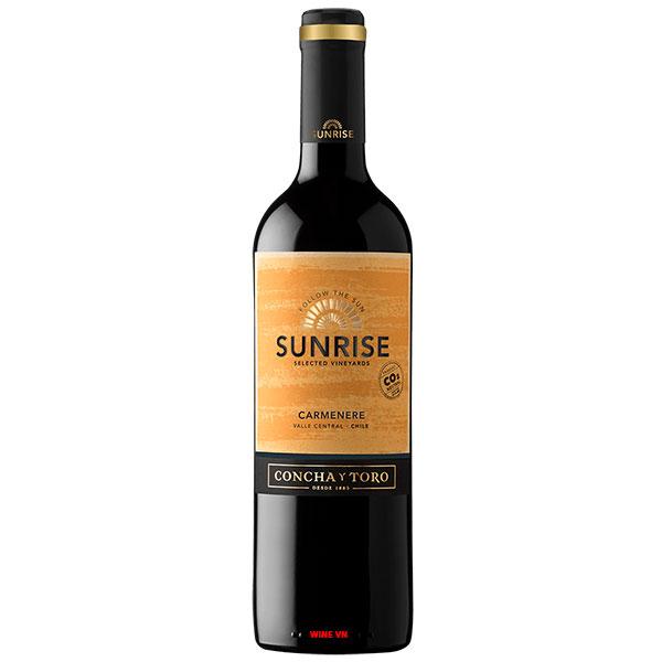 Rượu Vang Concha Y Toro Sunrise Carmenere