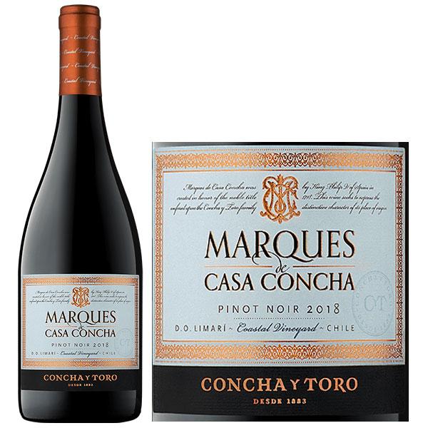 Rượu Vang Marques De Casa Concha Pinot Noir