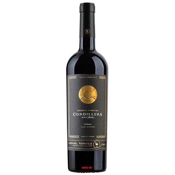 Rượu Vang Miguel Torres Cordillera Reserva Especial Syrah