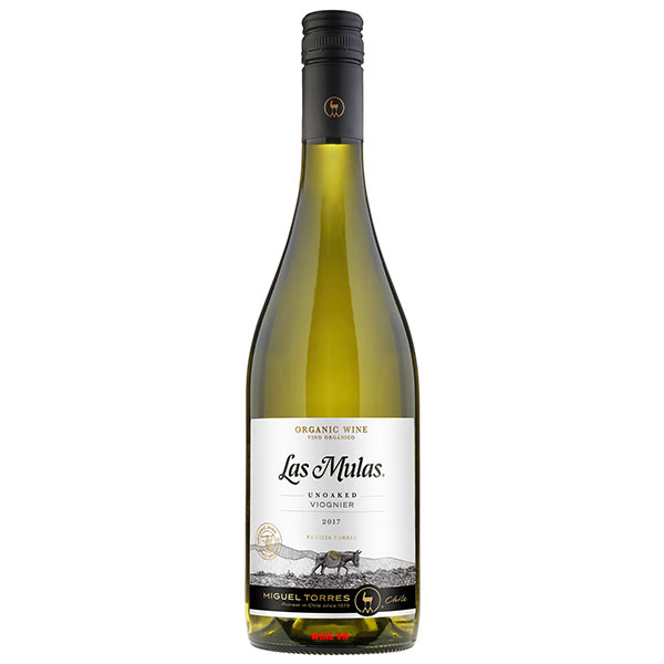 Rượu Vang Miguel Torres Las Mulas Organic Viognier