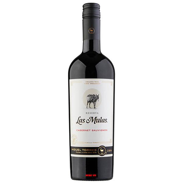 Rượu Vang Miguel Torres Las Mulas Reserva Cabernet Sauvignon