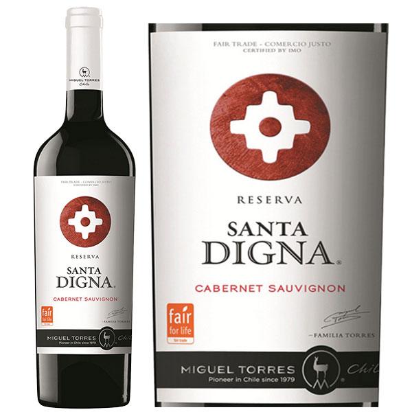 Rượu Vang Miguel Torres Santa Digna Reserva Cabernet Sauvignon