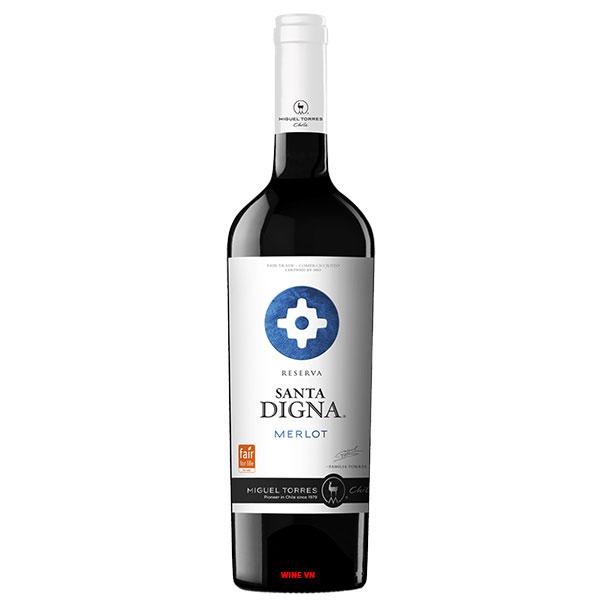 Rượu Vang Miguel Torres Santa Digna Reserva Merlot