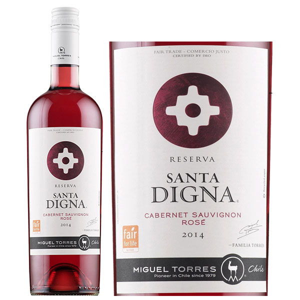 Rượu Vang Santa Digna Reserva Cabernet Sauvignon Rose
