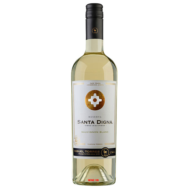 Rượu Vang Chile Santa Digna Reserva Sauvignon Blanc