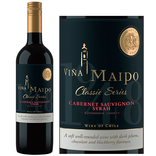 Rượu Vang Vina Maipo Classic Series Cabernet Sauvignon Syrah