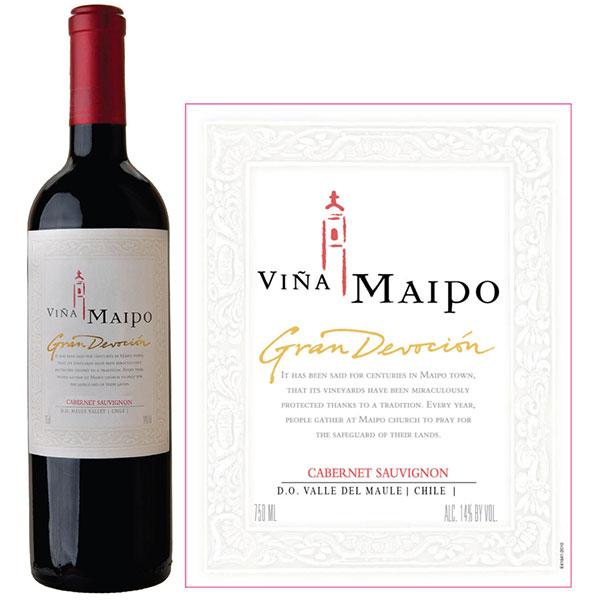 Rượu Vang Vina Maipo Gran Devocion Cabernet Sauvignon