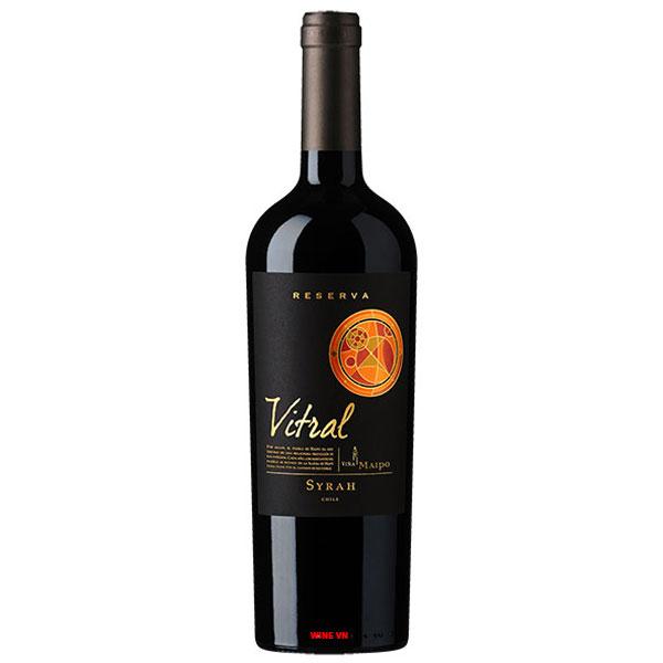 Rượu Vang Vina Maipo Vitral Reserva Syrah