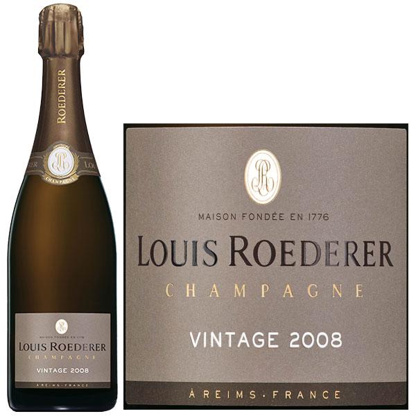Rượu Champagne Louis Roederer Vintage