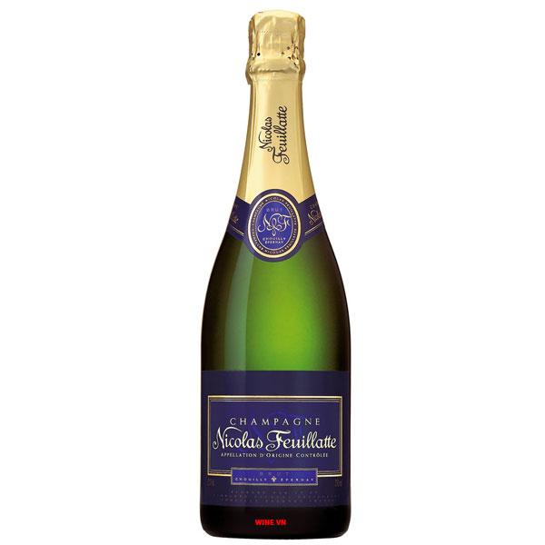 Rượu Champagne Nicolas Feuillatte Brut Réserve