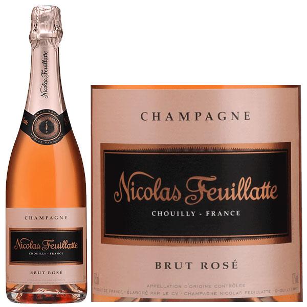 Rượu Champagne Nicolas Feuillatte Brut Rose