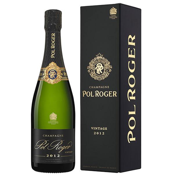 Rượu Champagne Pol Roger Brut Vintage 2012