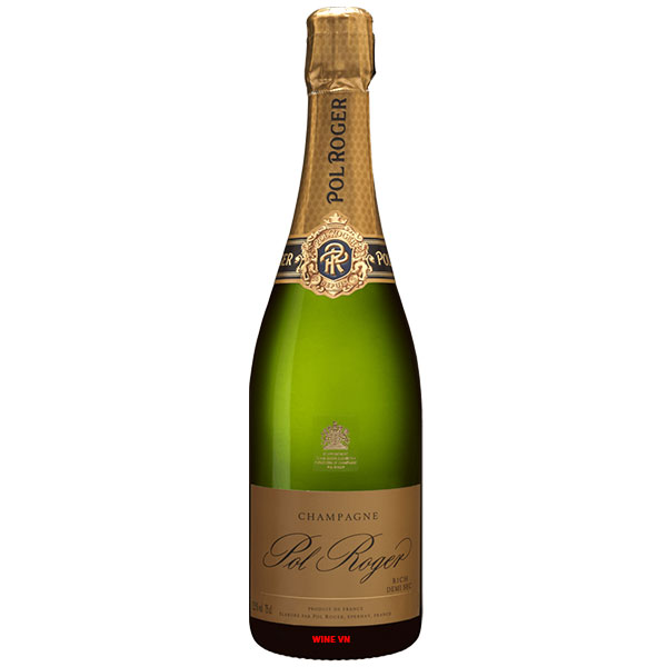 Rượu Champagne Pol Roger Rich Demi Sec