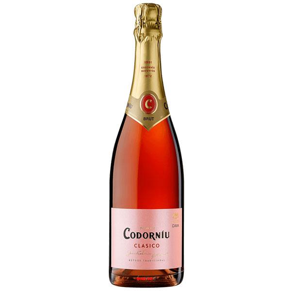 Rượu Sâm Banh Codorniu Clasico Rosado Sparkling Brut