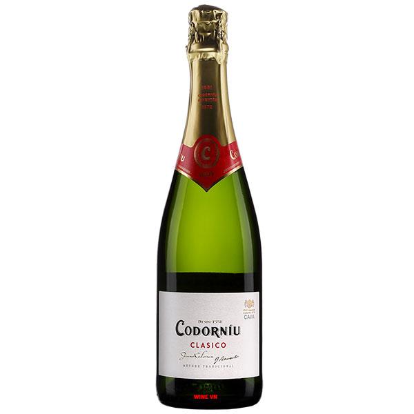 Rượu Sâm Banh Codorniu Clasico Sparkling Brut