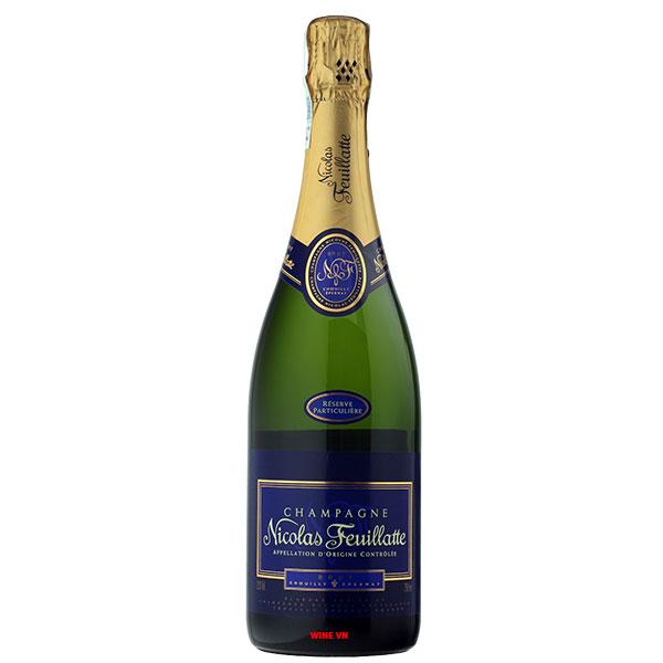 Rượu Sâm Banh Nicolas Feuillatte Particulière