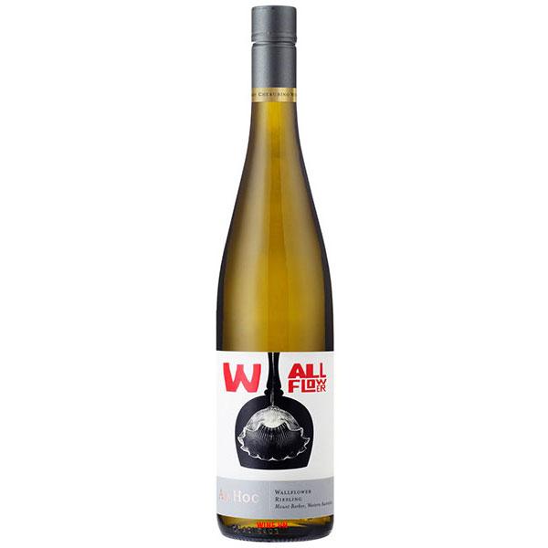 Rượu Vang ÚC Ad Hoc Wallflower Riesling