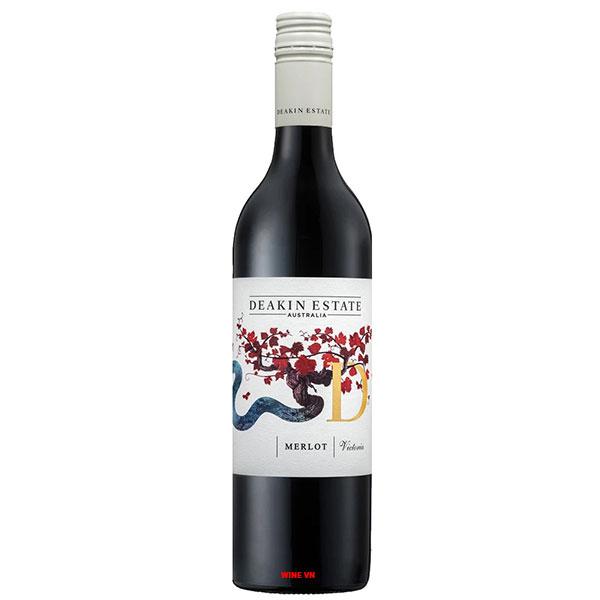 Rượu Vang ÚC Deakin Estate Merlot