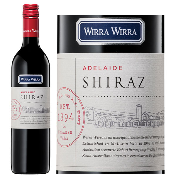 Rượu Vang ÚC Wirra Wirra Adelaide Shiraz