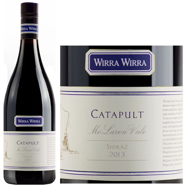 Rượu Vang ÚC Wirra Wirra Catapult Shiraz