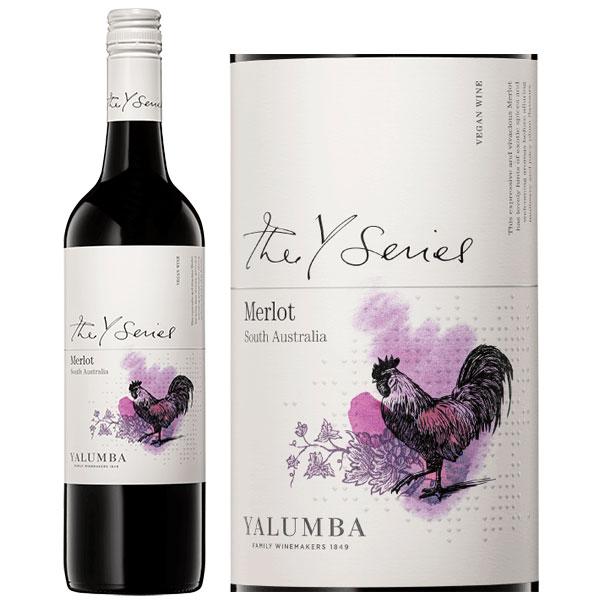 Rượu Vang ÚC Yalumba Y Series Merlot