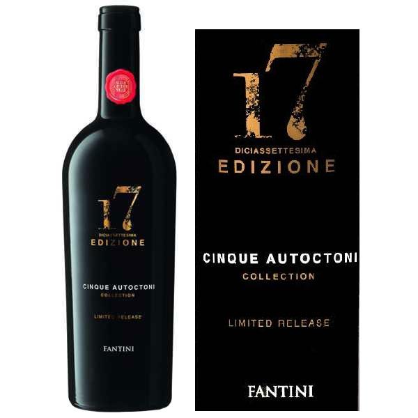 Rượu Vang Ý 17 Edizione Limited