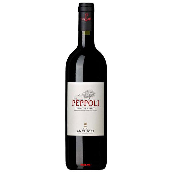 Rượu Vang Ý Antinori Peppoli Estate Chianti Classico
