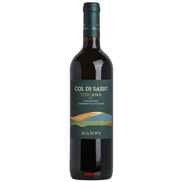Rượu Vang Ý Banfi Col Di Sasso Toscana