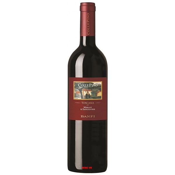 Rượu Vang Ý Banfi Collepino Toscana