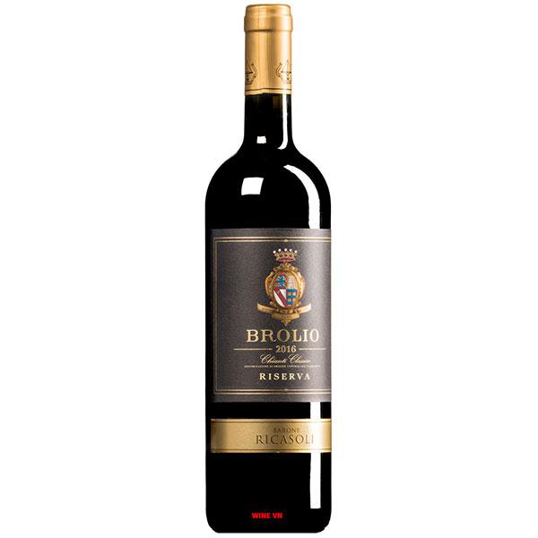 Rượu Vang Ý Barone Ricasoli Brolio Riserva