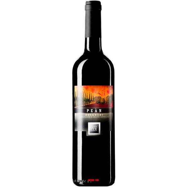 Rượu Vang Ý Batzella Pean Bolgheri