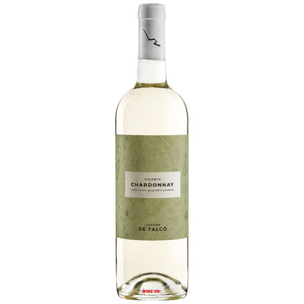 Rượu Vang Ý Cantine De Falco Chardonnay Salento