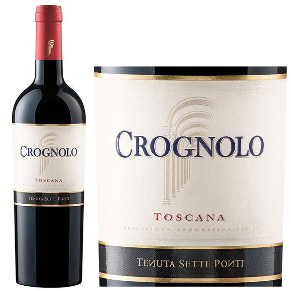 Rượu Vang Ý Crognolo Toscana