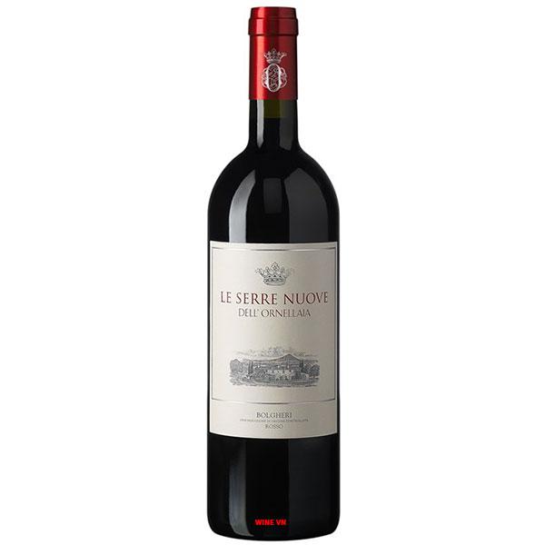 Rượu Vang Ý Le Serre Nuove Dell'Ornellaia