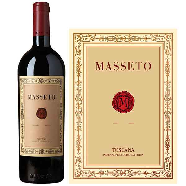 Rượu Vang Ý Masseto Toscana