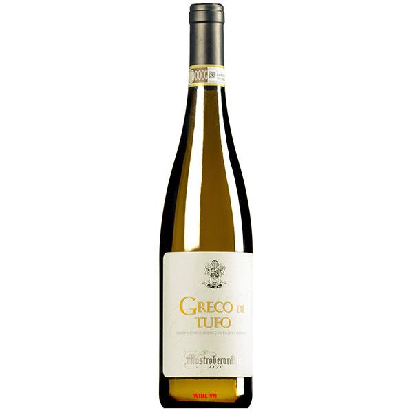 Rượu Vang Ý Mastroberardino Greco Di Tufo