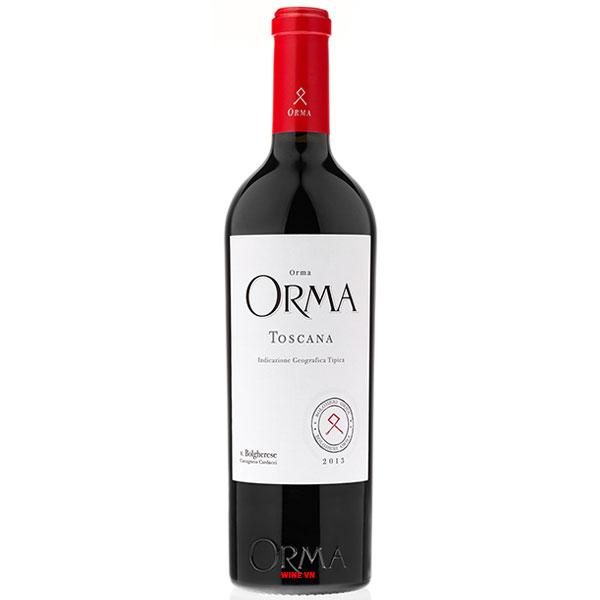 Rượu Vang Ý Orma Tuscany