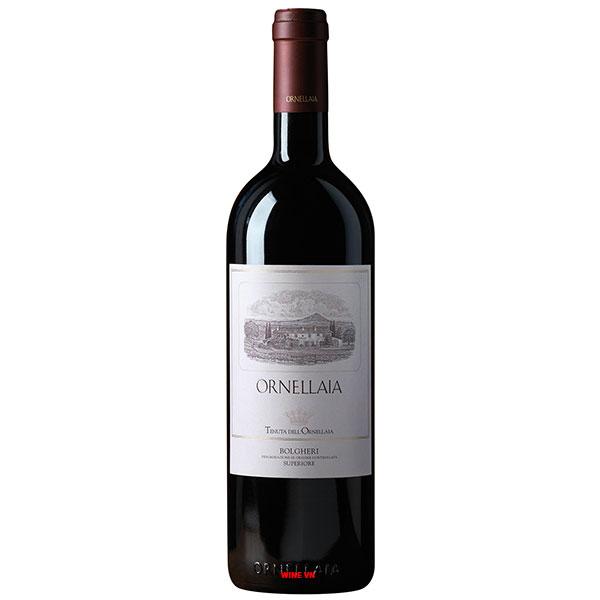 Rượu Vang Ý Ornellaia Bolgheri Superiore