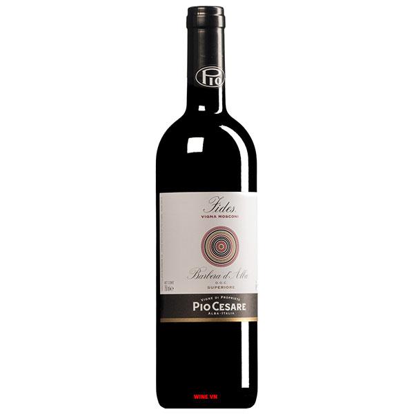 Rượu Vang Ý Pio Cesare Fides Barbera D'Alba