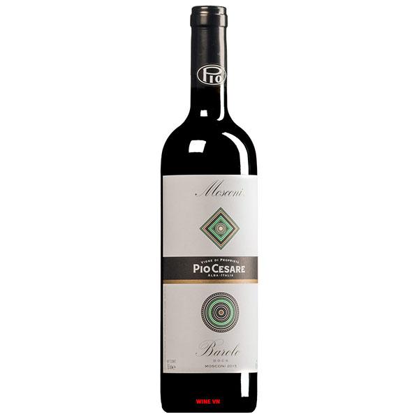 Rượu Vang Ý Pio Cesare Mosconi Barolo