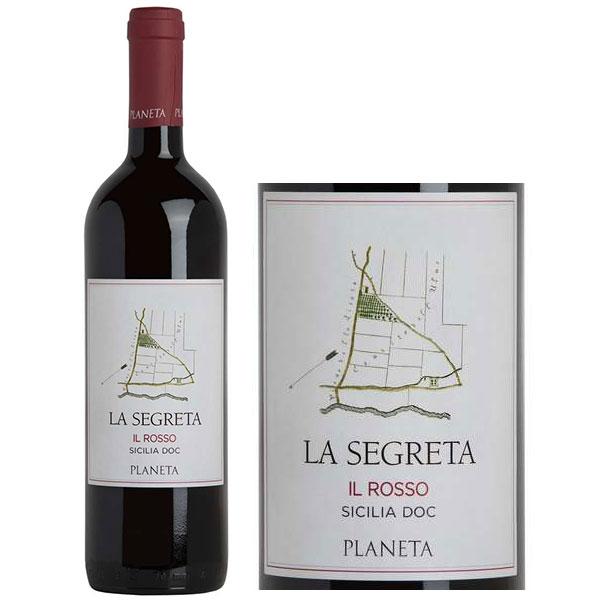 Rượu Vang Ý Planeta La Segreta IL Rosso Sicili