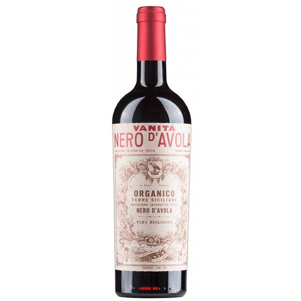 Rượu Vang Ý Vanitá Nero D'Avola