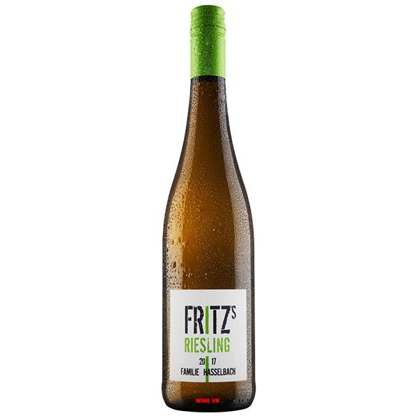 Rượu Vang Đức Fritz Riesling Rheinhessen