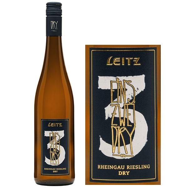 Rượu Vang Đức Leitz Eins Zwei Dry Rheingau Riesling